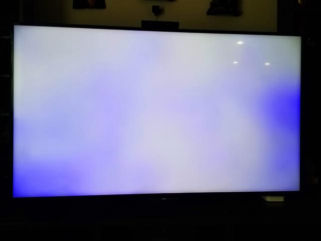 màn hình tivi sony bị đốm sáng